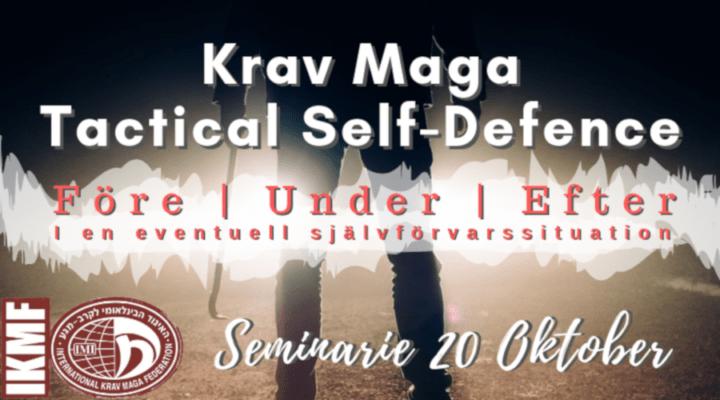 Krav Maga självförsvar Tactical Self-Defence seminarium